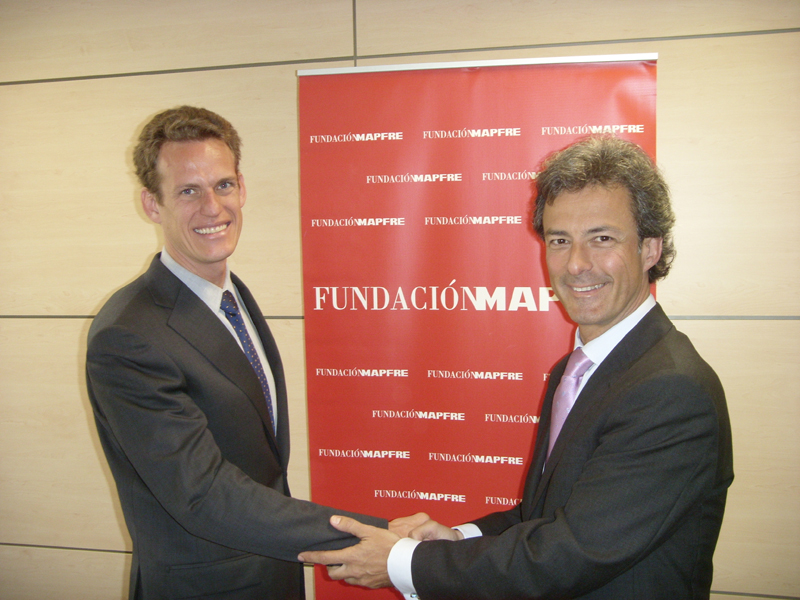 Fernando Garrido, General Director, Social Action at FUNDACION MAPFRE; Leonardo Martins Dias, Strategic Sustainability Advisor