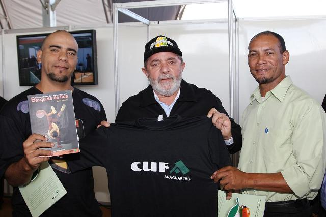 Lula, President of Brazil, supports CUFA initiatives